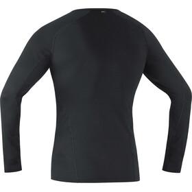 GORE WEAR Base Layer Thermo Langarmshirt Herren black